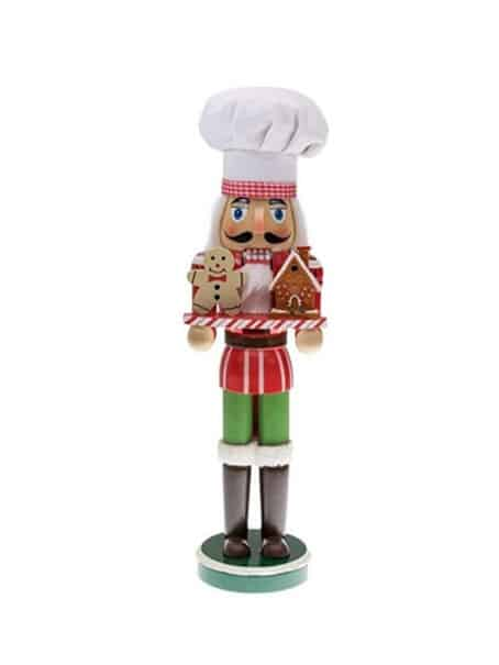 Gingerbread Nutcracker Chef New Product