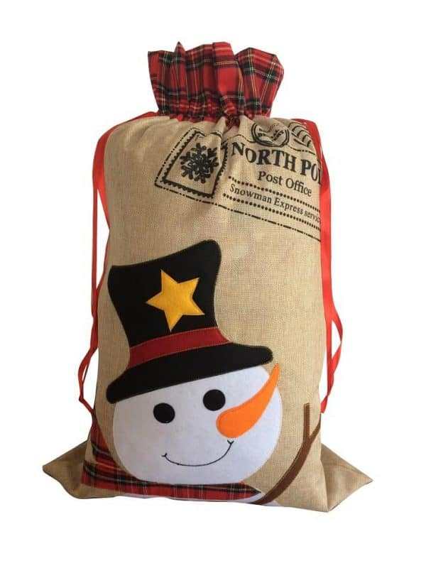 Hessian Christmas Sacks Product 3
