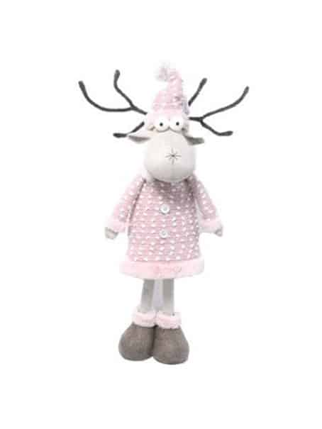 Holly Pink Reindeer New Porduct