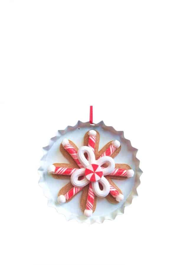 Candy Cane Plate