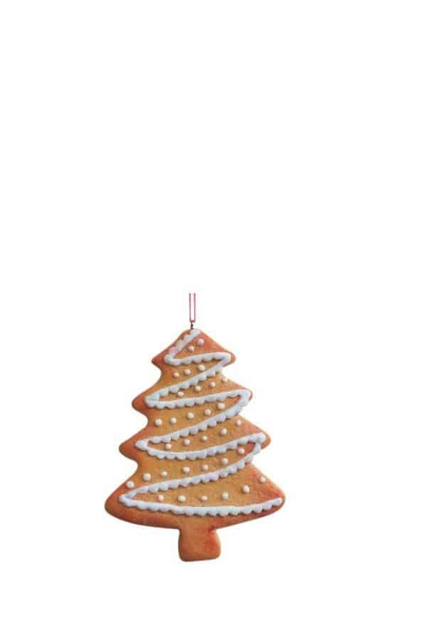 Christmas Ginger Tree Ornament