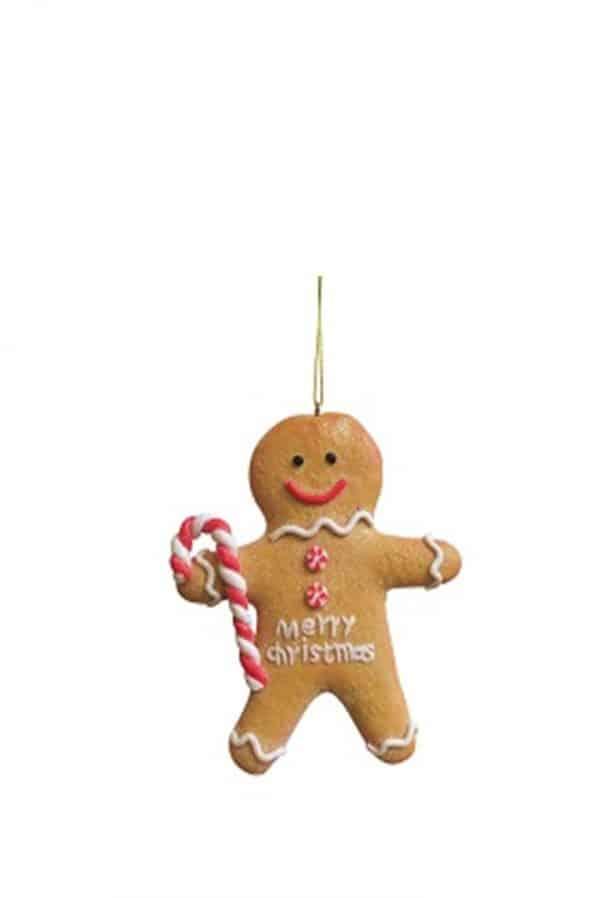 Gingerbread Boy Tree Ornament