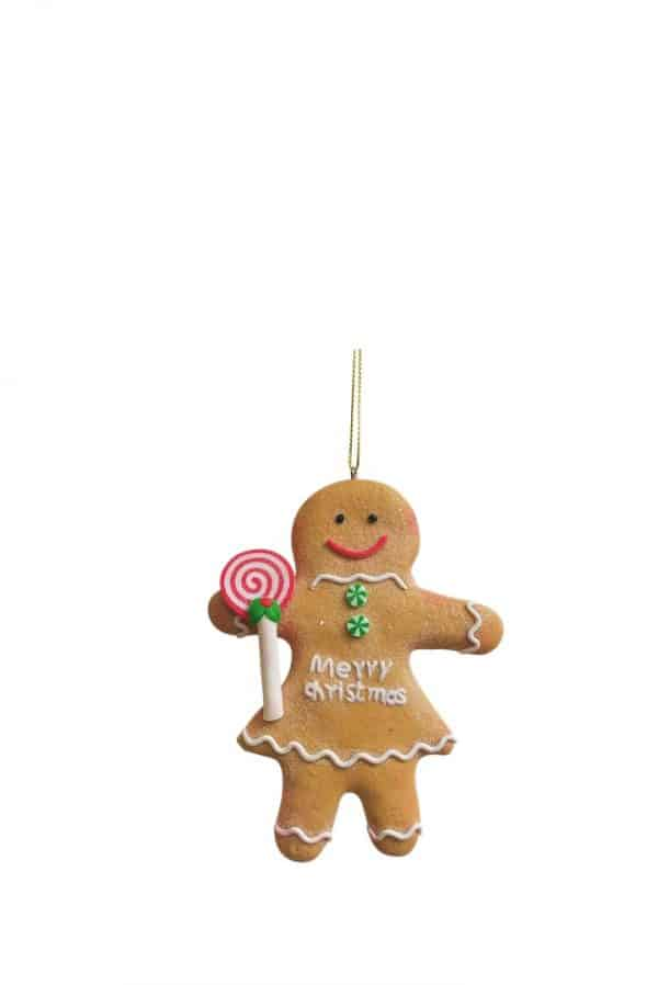 Gingerbread Girl Tree Ornament
