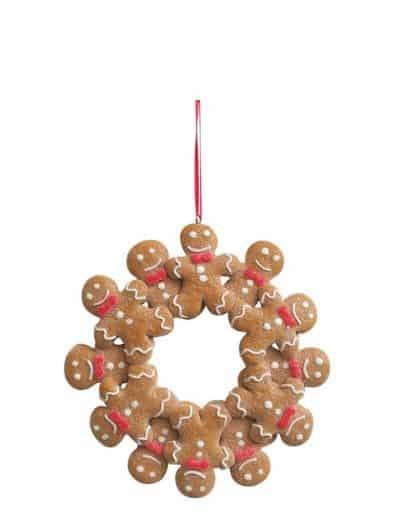 Gingerbread Wreath Circle