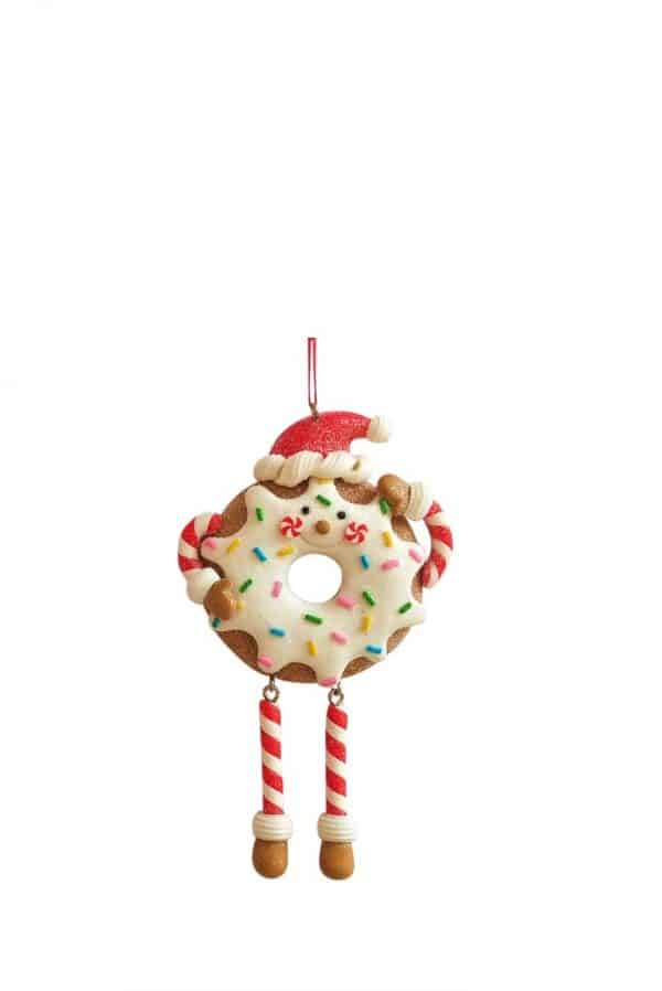 Iced Donut Tree Ornament
