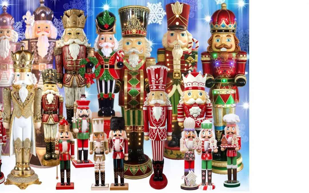 Festive nutcrackers for Christmas Decor