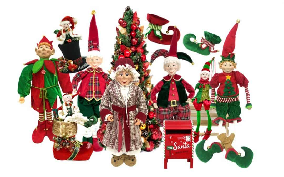 Our Elves are Getting Ready for Christmas 2021