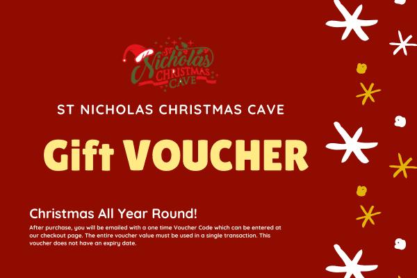 St Nicholas Christmas Cave Gift Voucher