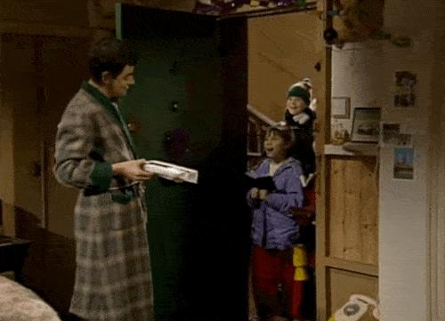 Mr Bean Christmas Caroling